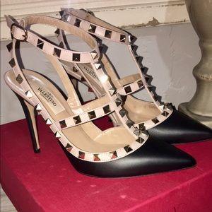 "Valentino Rockstud 4"" heels"